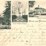 Medenau - Logwino, Ostpreussen, Russland, Kaliningrad (um 1903)