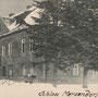 Märzendorf, Merzendorf - Mercendarbe, Kurland - Lettland (historische Ansicht), Auffahrtseite