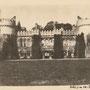 Unbekanntes Herrenhaus vermutlich in Polen in der Umgebung von Debina, Galizien (1915)