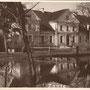 Santen - Zante, Kurland - Lettland (historische Ansicht), hier bereits Nutzung als Schule