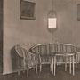 Prassen - Prosna, Ostpreussen - Polen (1913), das alte Billardzimmer