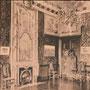 Schloss Königsberg - Kaliningrad, Ostpreussen, Russland, Kaliningrad (um 1933), Saal im Innern
