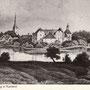 Burg Neuenburg - Jaunpils, Kurland, Lettland (hist. Ansicht)