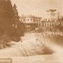 Schloss Schwanenburg - Gulbene, Livland, Lettland (um 1913), Parkseite