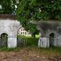 Kölljall auf Oesel - Koljala auf Saaremaa, Livland - Estland (2018), das erhaltene Zugangstor
