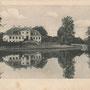 Lindenau - Lipowina, Ostpreußen - Polen (historische Ansicht), Parkseite