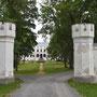 Talkhof - Puurmani, Livland - Estland (2018), Einfahrt zum Schloss