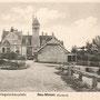 Schloss Neu-Moken (Jaunmoku), Kurland (Lettland) zur Zeit des 1. Weltkrieges