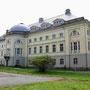 Schloss Katzdangen - Kazdanga, Kurland, Lettland (2017), Parkseite