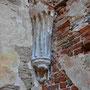 Ruine Burg Wenden - Cesis, Livland, Lettland (2016), Detail an der Ruine