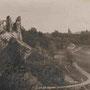 Burgruine Kokenhusen - Koknese, Livland, Lettland (hist. Ansicht)