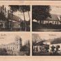 Ordensburg und Gut Balga - Wessjoloje, Ostpreussen, Russland, Kaliningrad (um 1918)