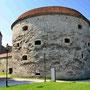 """Reval - Tallinn, Estland (2016), die """"Dicke Margarete"""" - Geschützturm zur Verteidigung des Hafens"""