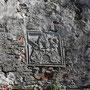 Wenden bei Hapsal - Vönnu bei Haapsalu, Estland (2019), Wappenkartusche am Tor