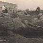 Ruine der Ordensburg Fellin - Viljandi, Livland, Estland (um 1927)
