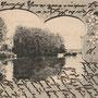 Domnau - Domnowo, Ostpreussen, Russland, Kaliningrad (um 1902), Schloss mit Schlossteich