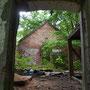 Jallametz - Jalametsa, Livland - Estland (2018), Blick in das verfallene Innere