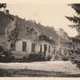 Gutshaus Keulenburg - Golubewo, Ostpreussen, Russland, Kaliningrad (Foto 1939), Auffahrtseite