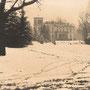 Lyntupy, Byschewsky-Palast, Wilna - Belarus (historische Aufnahme im 1. WK)