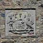 Ruine Burg Segewold - Sigulda, Livland, Lettland (2016), Wappen über dem Eingang