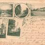 Wischwill - Viesvile, Ostpreussen, Memelgebiet - Litauen (um 1900)