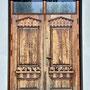 Weißensee - Biel, Ostpreußen - Polen (2020), die vermutlich originale Eingangstür