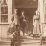 Neu-Wohlfahrt - Jerceni, Livland, Lettland (1918), Eingangsveranda