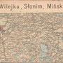 """HISTORISCHE GENERALKARTE """"WILKOMIERZ, DWINSK, WILNA, WILEJKA, SLONIM, MINSK"""" 1-3"""