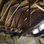 Piddul auf Oesel - Pidula auf Saaremaa, Livland - Estland (2018), das sanierte Dachgebälk