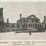 Schloss Sunzel - Suntazi, Livland - Lettland (1905), kurz nach der Zerstörung durch Aufständige