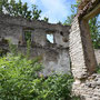 Klosterhof - Kloostri, Estland (2018), Blick in das Innere der Ruine