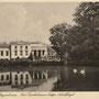 Schloss Beynuhnen - Uljanowskoje, Ostpreussen, Russland, Kaliningrad (um 1939), Blick auf den westlichen Portikus
