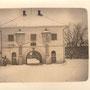 Preekuln - Priekule, Das Schwedentor, Kurland, Lettland (um 1916)