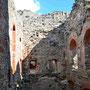Ruine Burg Wenden - Cesis, Livland, Lettland (2016), Im Innern der Ruine