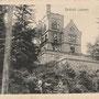 Das schwer beschädigte Schloss Alt-Lassen - Veclasu, Kurland, Lettland (1916)