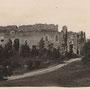 Burgruine Ronneburg - Rauna, Livland - Lettland (um 1918)