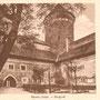 Ordensburg Rössel - Reszel, Ostpreussen - Polen (um 1927)