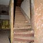Elley, Ellei - Eleja, Kurland - Lettland (2019), Treppenaufgang im Seitengebäude