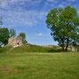 Ruine der Ordens- und Bischofsburg Leal - Lihula, Estland (2019)