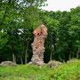 Ruine der Ordensburg Seehesten - Szestno, Ostpreussen - Polen (2019)