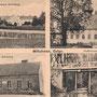 Milluhnen mit zwei Gutshäusern (Schellong, Möller) - Iljuschino, Ostpreussen - Russland, Kaliningrad (um 1926)