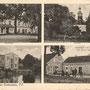 Gross-Peisten - Piasty Wielkie, Ostpreußen - Polen (historische Aufnahme)