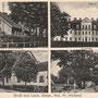 Lauck, Lauk - Lawki, Ostpreussen - Polen (um 1933)