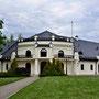Schloss Schwanenburg - Gulbene, Livland, Lettland (2016), die Manege, heute Hotel und Restaurant