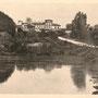 Ruine, Herrenhaus Ringmundshof - Rembate, Livland - Lettland (um 1900)