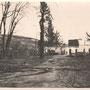 Kabarowce - Kabarivtsi, Galizien - Ukraine (1917), das zerstörte Herrenhaus