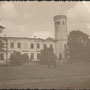 Historische Ansicht des beschädigten Herrenhaus Weinjerwen - Väinjärve, Estland (vermutl. im II. WK)