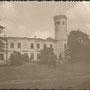Das beschädigte Herrenhaus Weinjerwen - Väinjärve, Estland (vermutl. II. Weltkrieg)
