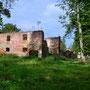 Schlodien - Gladysze, Ostpreussen - Polen (2020), Ruine eines Nebengebäudes