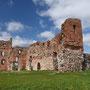 Ruine Ordensburg Ludzen, russ.: Ljuzin - Ludza, Witebsk - Lettland (2017)